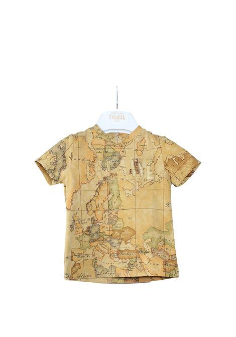 T-Shirt Neonato Geo Istituzionale ALVIERO MARTINI 1° CLASSE JUNIOR | T-shirt | 2566M0481GOLD