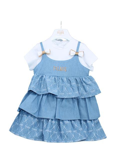 Vestito Bambina Balze ALVIERO MARTINI 1° CLASSE JUNIOR | Vestiti | 2566V0495WHITE
