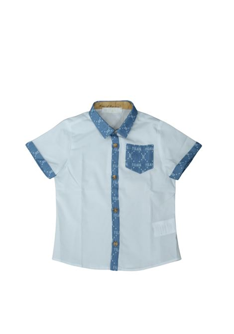 Camicia Special Bambino White ALVIERO MARTINI 1° CLASSE JUNIOR | Camicie | 2576C0349WHITE