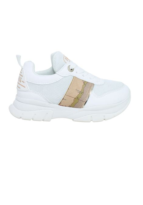 Sneakers Bambina White Geo Beige ALVIERO MARTINI 1° CLASSE JUNIOR | Sneakers | P3A4-10555-0208X013