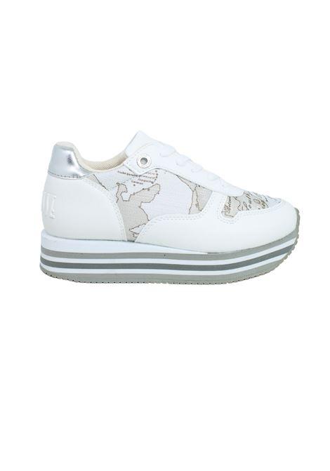 Sneakers Bambina White Safari Lime ALVIERO MARTINI 1° CLASSE JUNIOR | Sneakers | P3A4-10562-0558X018