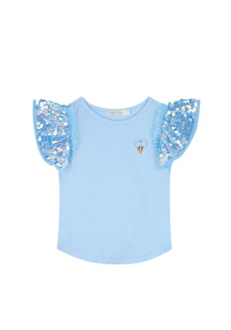 T-Shirt Bambina Louis Baby Blue ANGEL'S FACE | T-shirt | LOUISEBABY BLUE