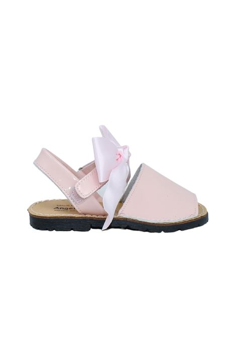 Minorchina Fiocco Raso Pink ANGELITOS | Minorchine | 206ROSA