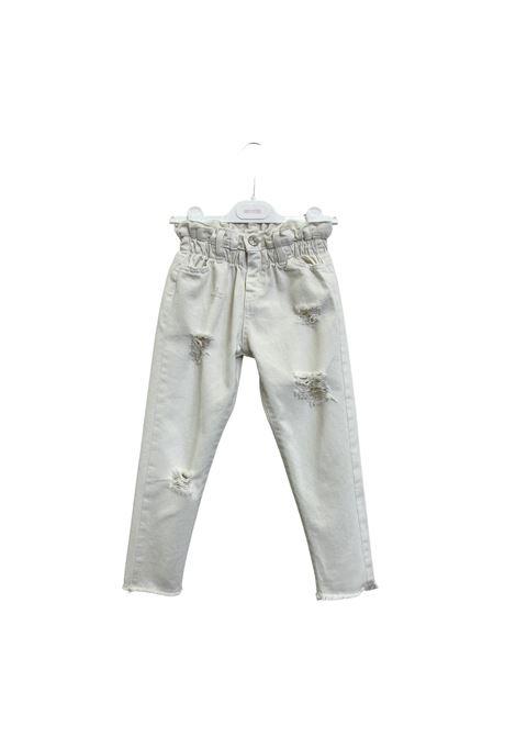 Jeans Ruffle Denim Bambina ANIYE BY GIRL | Pantaloni | 1150400001