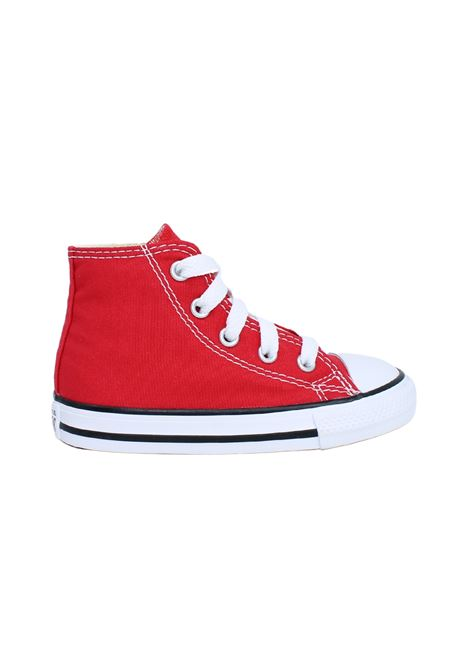 Converse Bambina Red CONVERSE KIDS | Sneakers | 7J232CROSSO