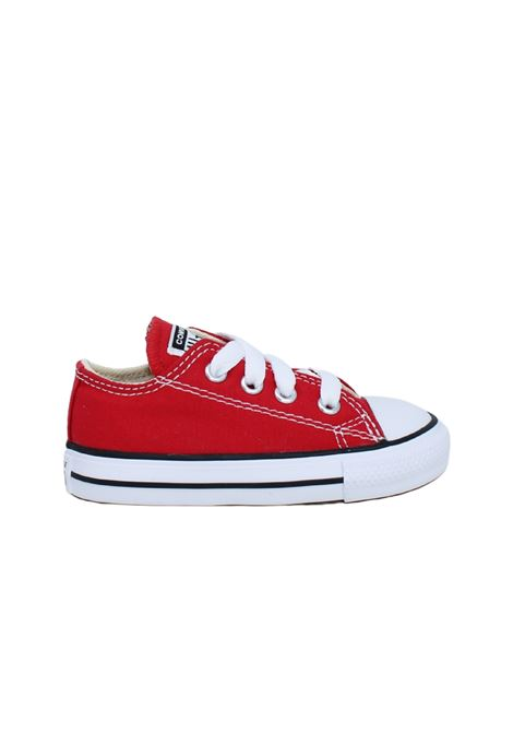 Converse Bambina Red CONVERSE KIDS | Sneakers | 7J236CROSSA