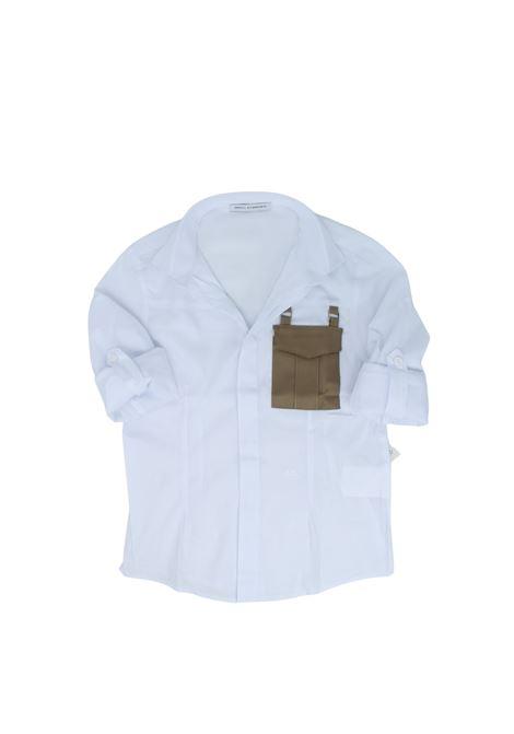 Camicia Bambino Tasch DANIELE ALESSANDRINI JUNIOR | Camicie | 1235C0840WHITE