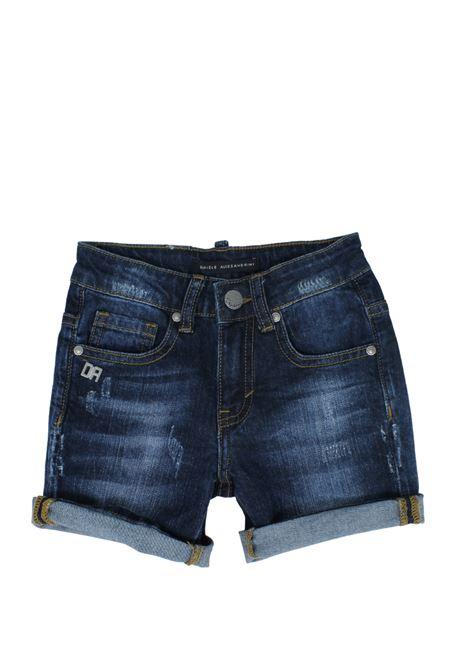 Bermuda Bambino Jeans DANIELE ALESSANDRINI JUNIOR | Pantaloni | 1236D0853DENIM