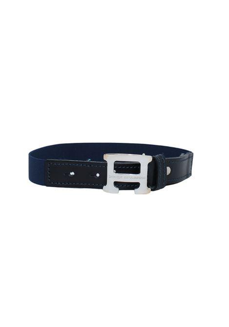 Cintura Bambino Blu DANIELE ALESSANDRINI JUNIOR | Cinture | 1295BELT0639BLUE