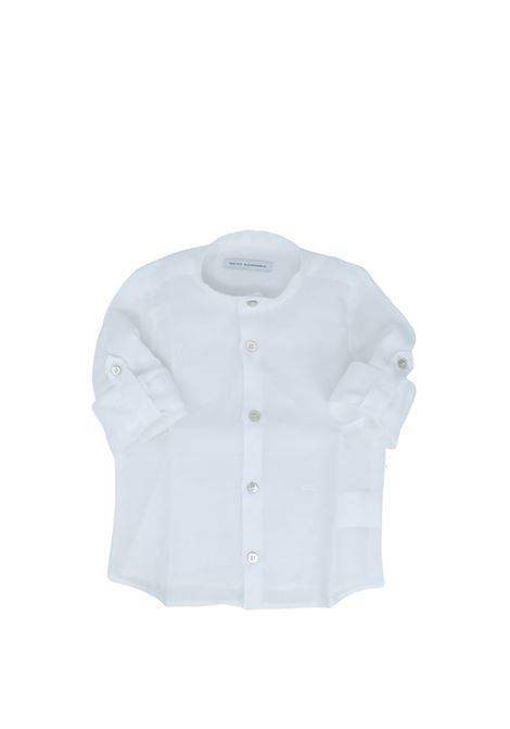 Camicia Bambino Coreana DANIELE ALESSANDRINI JUNIOR | Camicie | 1295C0554WHITE