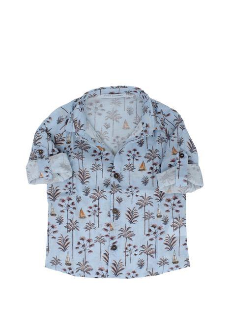 Camicia Bambino Hawai DANIELE ALESSANDRINI JUNIOR | Camicie | 1295C0564SKY