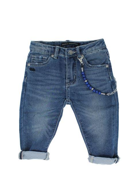 Pantalone Bambino Jeans DANIELE ALESSANDRINI JUNIOR | Pantaloni | 1295D0528SKY