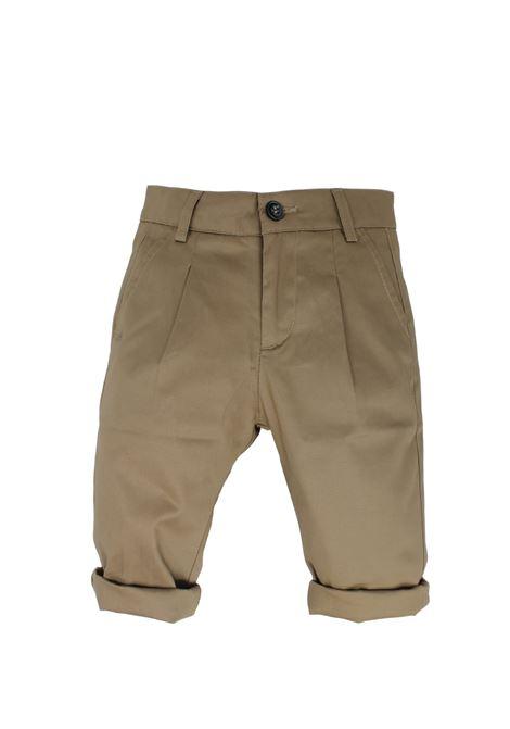 Pantalone Bambino Cammello DANIELE ALESSANDRINI JUNIOR | Pantaloni | 1295P0524CAMEL