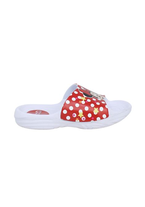 Ciabatta Bambina Minnie Mouse EASY SHOES | Ciabatte | MPP8350BIANCO