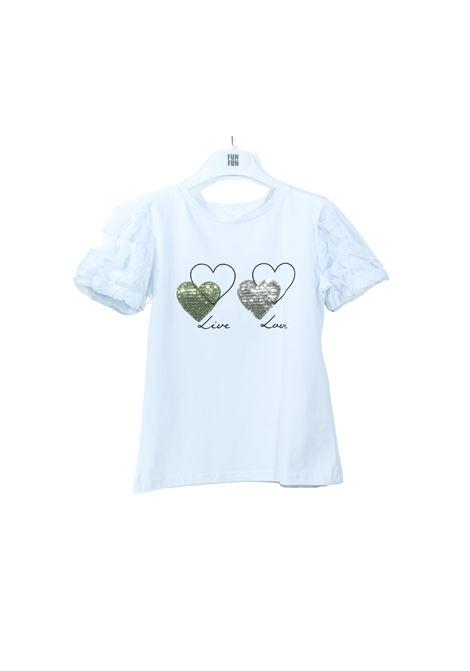 FUN&FUN | T-shirt | FCHJTS8582001