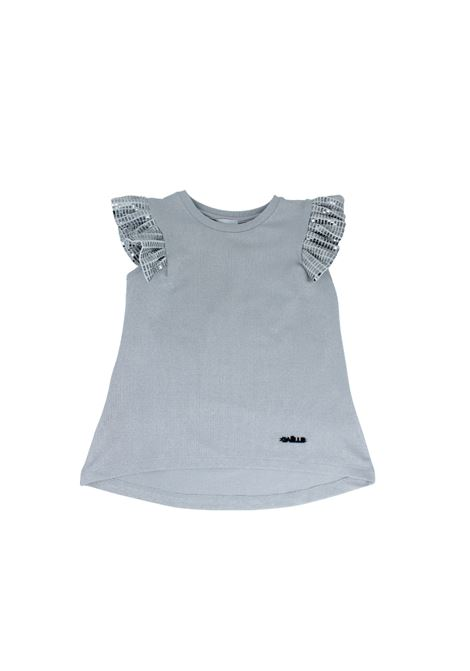 Top Mirror Bambina  GAËLLE PARIS KIDS | T-shirt | 2746M0373SILVER