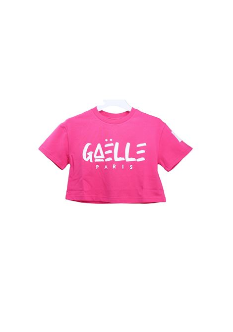 Top Logo Bambina GAËLLE PARIS KIDS | T-shirt | 2746M0430FUCSIA