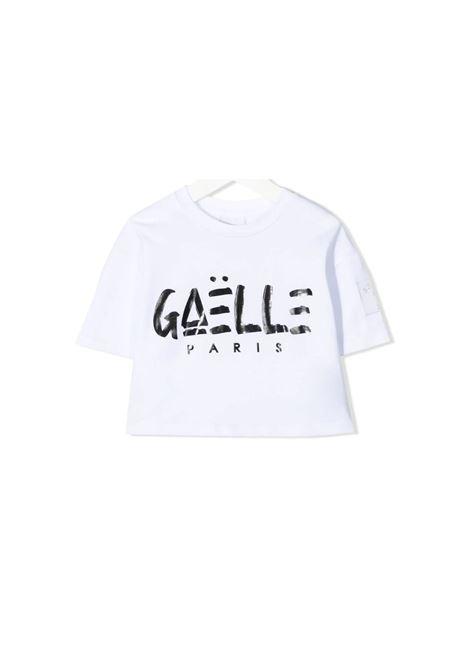 Top Logo Bambina GAËLLE PARIS KIDS | T-shirt | 2746M0430WHITE