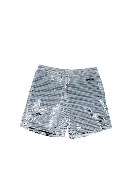 Short Mirror Bambina GAËLLE PARIS KIDS | Shorts | 2746P0374SILVER
