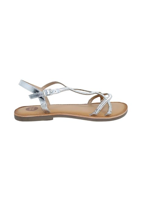 Sandalo Bambina Argento Cassan GIOSEPPO KIDS | Sandali | 62985ARGENTO