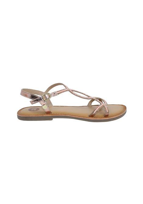 Sandalo Bambina Rame Cassan GIOSEPPO KIDS | Sandali | 62985RAME