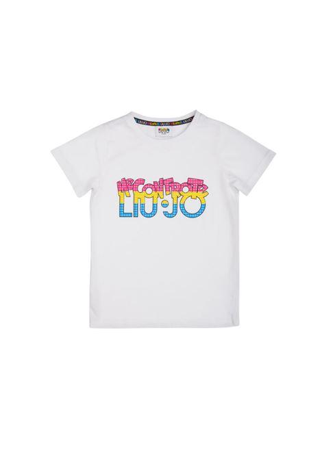 T-shirt Bambina Logo LIU-JO MECONTROTE | T-shirt | 4B1325TX190011111013
