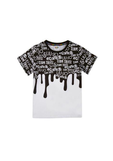 T-shirt Bambino Paint LIU-JO MECONTROTE | T-shirt | 4B1329TX190S10051014