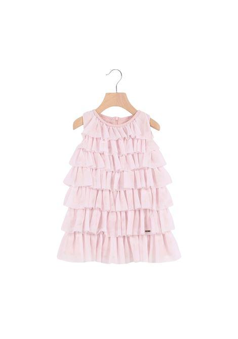 Vestito Bambina Balze Pink LIU-JO JUNIOR   Vestiti   KA1144J766741309