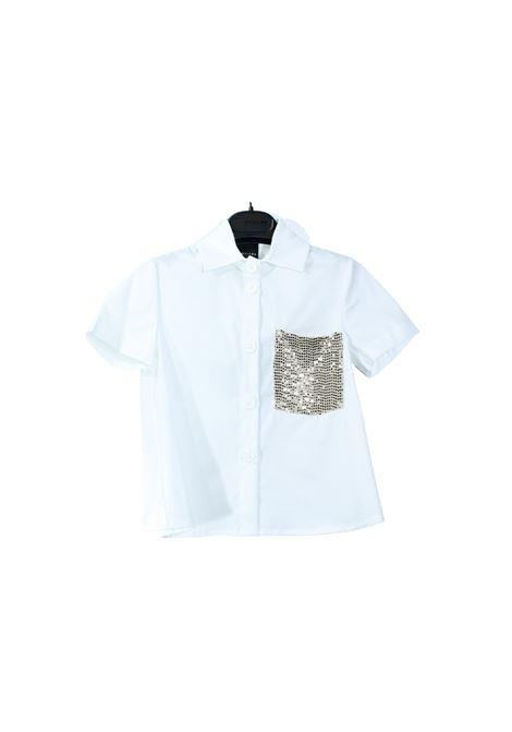 Camicia Bambina Tasca Oro MARC ELLIS NEW YORK KIDS | Camicie | JMEJSH8502056