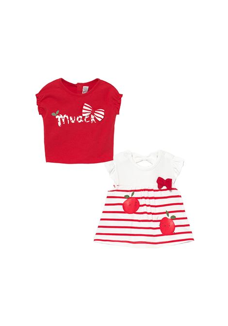 Set Magliette Apple MAYORAL NEWBORN | Maglie | 1072050