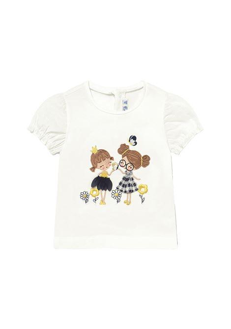 T-shirt bimbe ricamate MAYORAL | Maglie | 1078086
