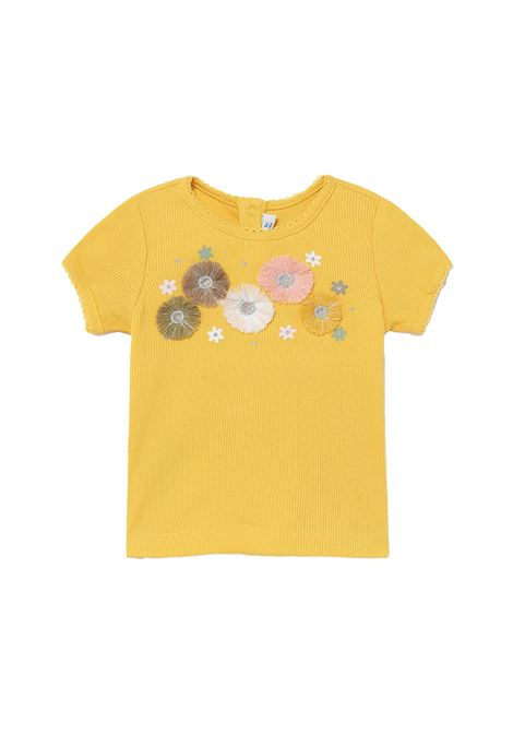 T-shirt A Costine Fiori MAYORAL | Maglie | 1084068