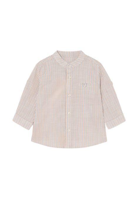 Camicia Righe Lino MAYORAL | Camicie | 1118010