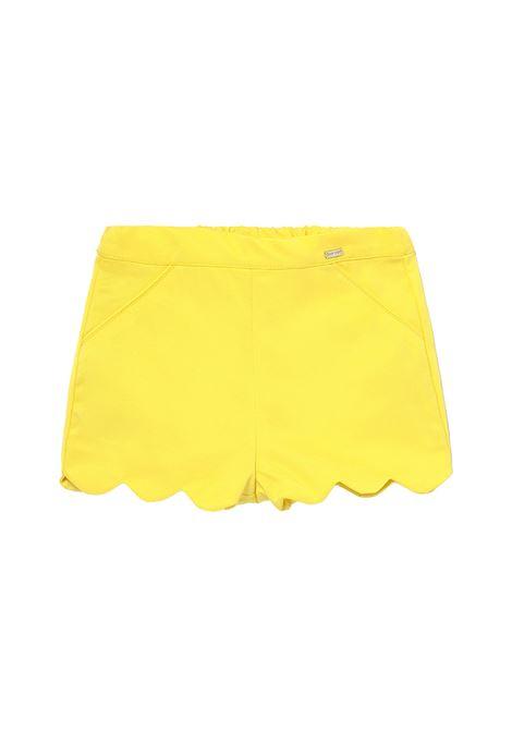 Shorts Yellow Baby MAYORAL | Pantaloni | 1223096