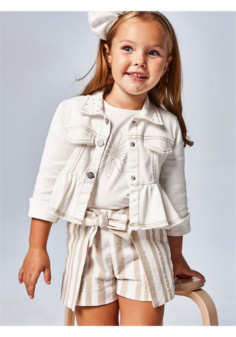 Shorts Righe Lurex MAYORAL | Pantaloni | 3208058