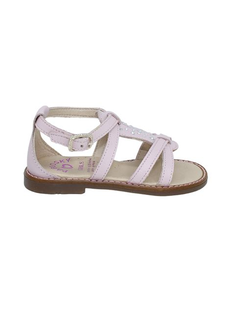 Sandalo Bambina Strass PABLOSKY   Sandali   496778ROSA