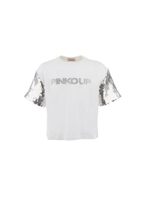 T-shirt Bambina Paillettes PINKO UP | T-shirt | 027188002