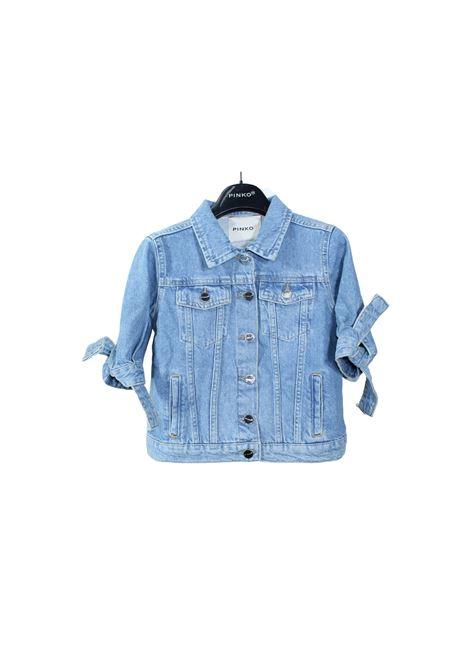 Giubbino Bambina Jeans Fiocco PINKO UP | Giubbini | 027190172