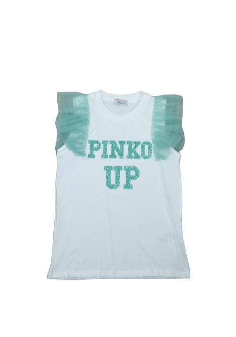T-shirt Bambina Pinko in Tulle PINKO UP | T-shirt | 02723100225