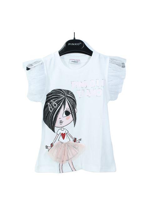 T-shirt Bambina Stampa PINKO UP | T-shirt | 027384002