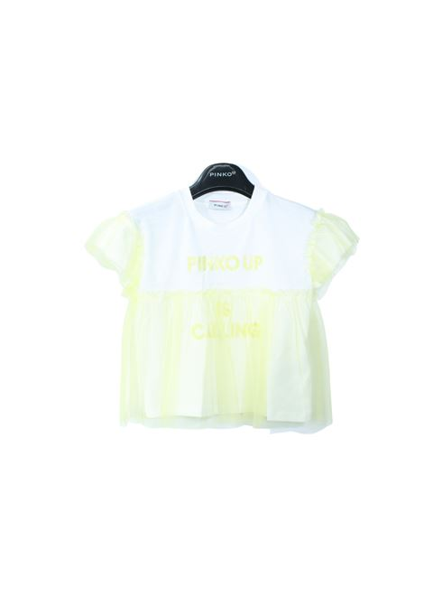 T-shirt Bambina Pinko Tulle PINKO UP | T-shirt | 027766020