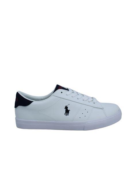 Sneakers Bambino Theron POLO RALPH LAUREN JUNIOR | Scarpe | 12RF102238WHITE