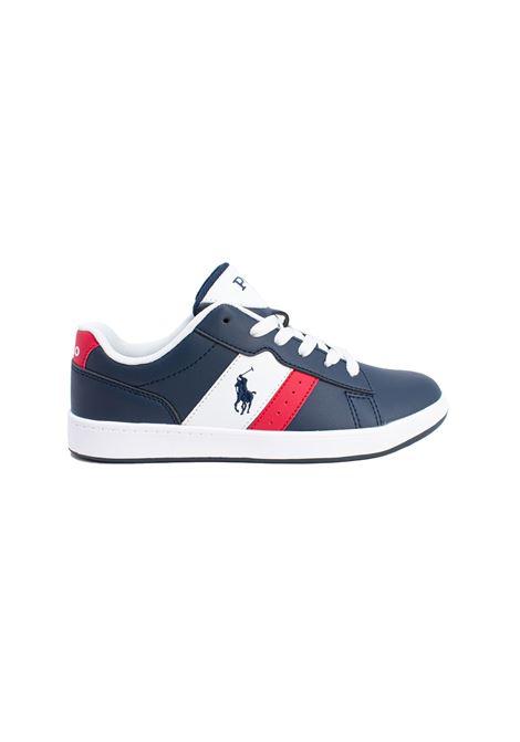 Sneaker Bambino English POLO RALPH LAUREN JUNIOR | Scarpe | 12RF102879NAVY