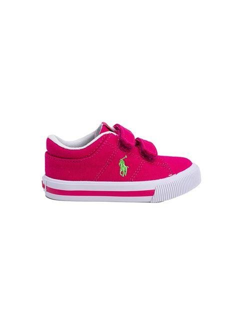 Sneaker Bambina Iconica Tela Fucsia POLO RALPH LAUREN JUNIOR | Scarpe | 12RF102961PINK