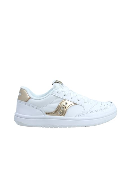 SAUCONY KIDS   Sneakers   SK164399WHITE/GOLD