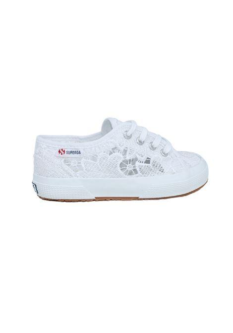 Superga Bambina Ricamata SUPERGA KIDS | Sneakers | 2750S008YA0BIANCO