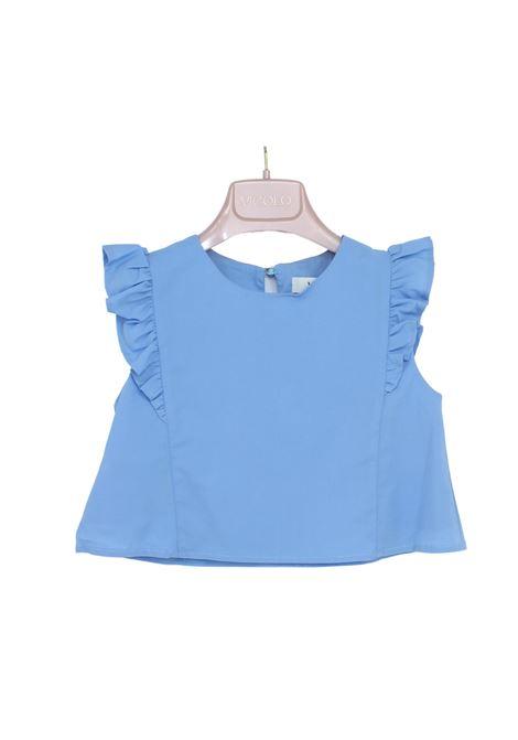 Blusa Bambina Carta Da Zucchero VICOLO KIDS | Camicie | 3146C0462LAKE
