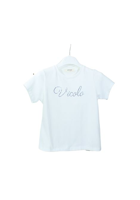 VICOLO KIDS | T-shirt | 3146M0382PANNA