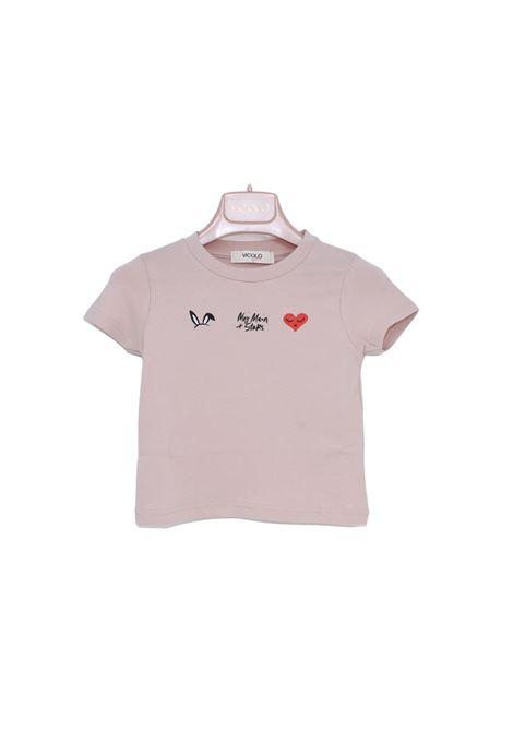 T-Shirt Bambina Pink VICOLO KIDS | T-shirt | 3146M0481ROSA