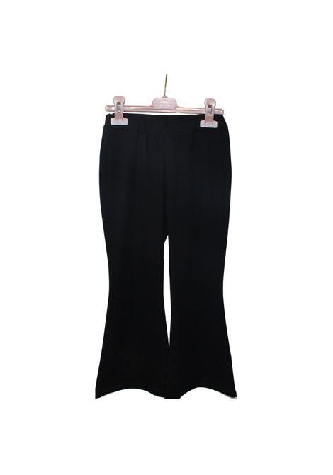 Pantalone Zampa Bambina VICOLO KIDS | Pantaloni | 3146P0358BLACK